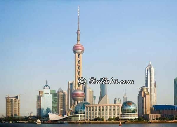 Địa điểm du lịch hấp dẫn, view đẹp nhất Thượng Hải: Nên đi đâu tham quan, vui chơi khi đến Thượng Hải?
