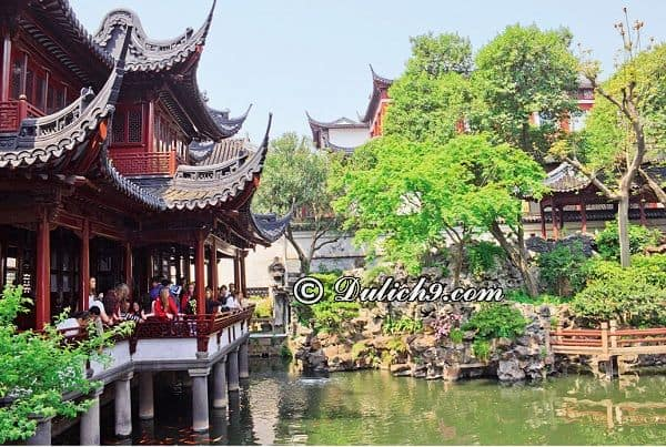Địa điểm du lịch, ngắm cảnh, check in đẹp, nổi tiếng ở Thượng Hải: Danh lam cảnh đẹp nổi tiếng ở Thượng Hải