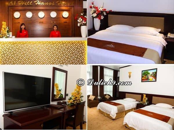 Du lịch Hà Nội ở khách sạn nào gần khu ăn uống giá rẻ?