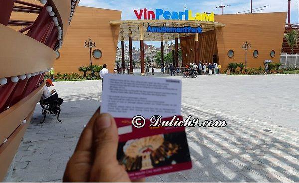 Giá vé tham quan, vui chơi ở Vinpearl Land Hội An: Kinh nghiệm đi chơi ở Vinpearl Land Hội An