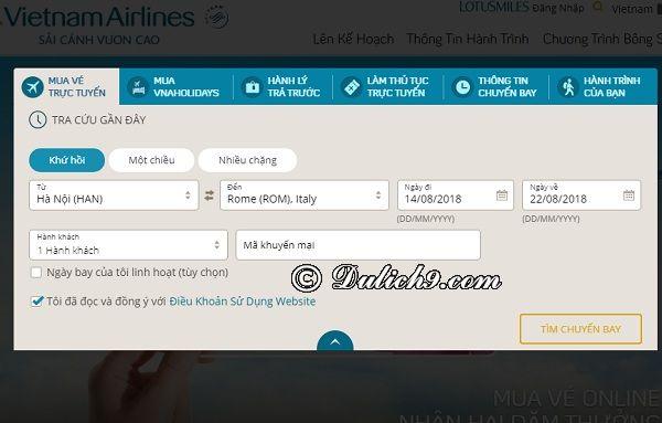 Hướng dẫn cách đặt vé máy bay thanh toán sau để xin visa: Kinh nghiệm mua vé máy bay trả sau