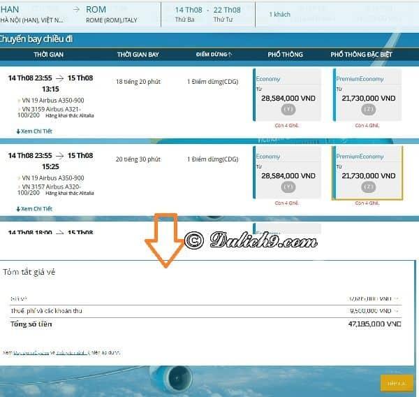 Kinh nghiệm đặt vé máy bay trả sau để xin visa: Làm sao để đặt vé máy bay trả sau khi xin visa