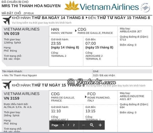 Kinh nghiệm xin visa bằng vé máy bay trả sau thuận lợi: Hướng dẫn đặt vé máy bay thanh toán sau để nộp đơn xin visa đi Châu Âu, Mỹ, Nhật..