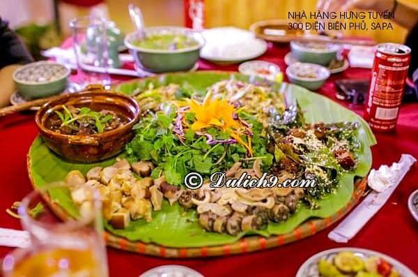 Món ăn đặc sản ngon, nổi tiếng ở Sapa: Du lịch Sapa nên ăn gì? Món ăn ngon ở Sapa