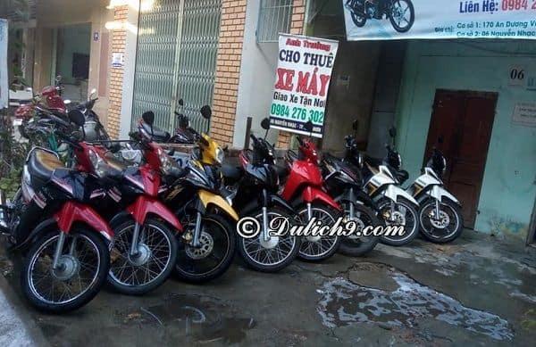 Địa chỉ cho thuê xe máy ở Quy Nhơn giá rẻ, uy tín: thuê xe máy ở đâu Quy Nhơn?