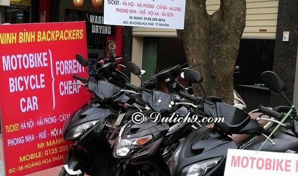 Địa điểm cho thuê xe máy giá rẻ ở Ninh Bình: Địa chỉ các cửa hàng cho thuê xe máy uy tín ở Ninh Bình