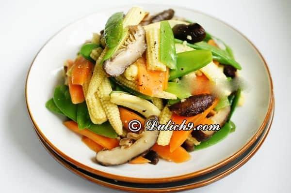 Cơm chay Phước Hậu – Duy Tân/ quán ngon nức tiếng quận Cầu Giấy- Quận Cầu Giấy có nhà hàng, quán ăn nào ngon?