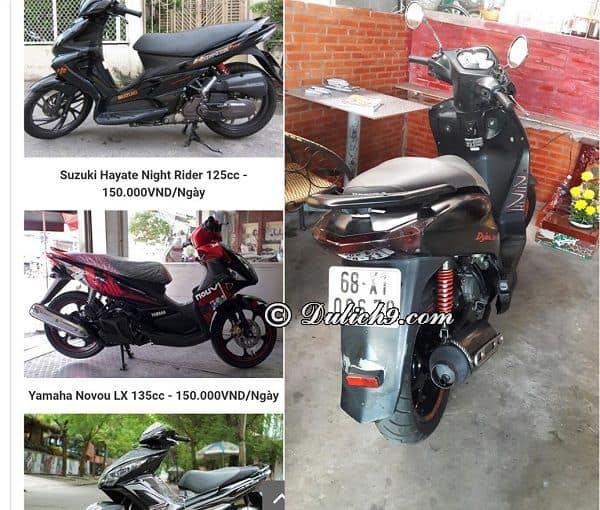 Địa chỉ cửa hàng cho thuê xe máy ở Cần Thơ uy tín, giá rẻ: Kinh nghiệm thuê xe máy ở Cần Thơ