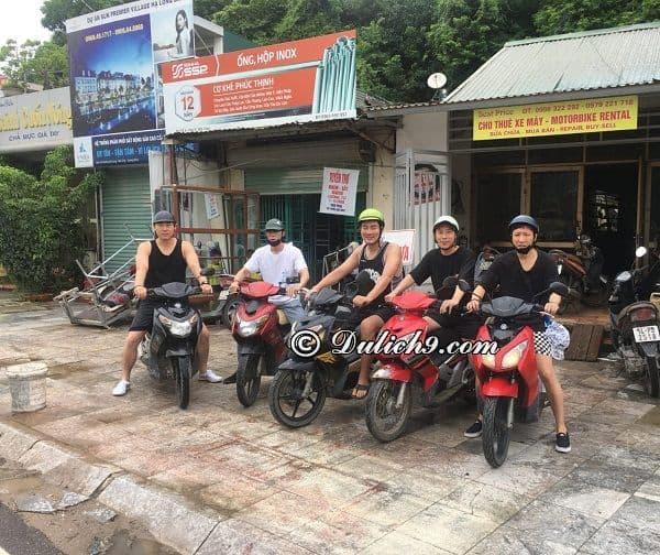 Địa chỉ cửa hàng cho thuê xe máy ở Hạ Long uy tín, giá rẻ: Thuê xe máy ở đâu Hạ Long?