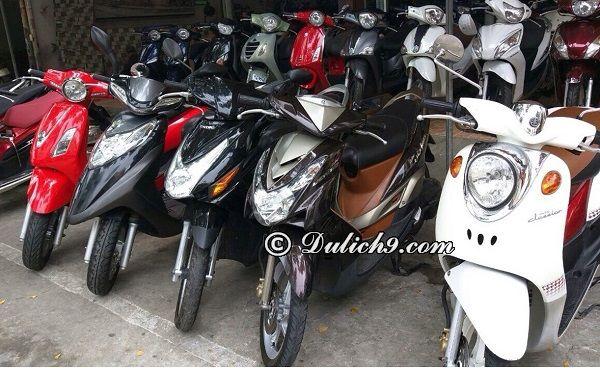 Địa chỉ cửa hàng cho thuê xe máy ở Vũng tàu uy tín, giá rẻ: thuê xe máy ở đâu Vũng Tàu?