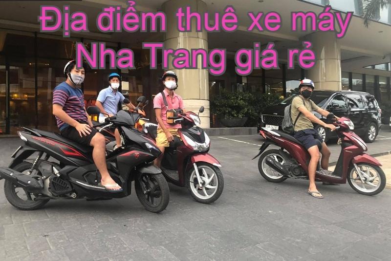 Địa điểm thuê xe máy Nha Trang giá rẻ