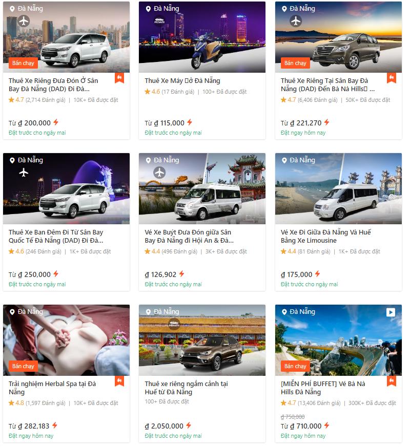 Dịch vụ thuê xe ô tô Đà Nẵng online. Kinh nghiệm, thủ tục, giá thuê xe ô tô Đà Nẵng