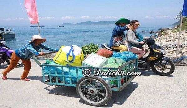 Du lịch Cù Lao Chàm 2 ngày 1 đêm bằng xe máy: Thuê xe máy ở Cù Lao Chàm