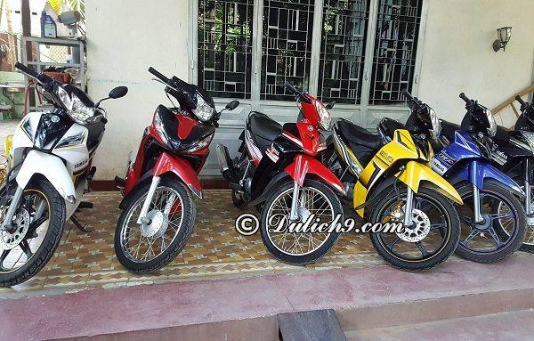 Kinh nghiệm thuê xe máy ở Cần Thơ uy tín, giá rẻ: thuê xe máy ở đâu Cần Thơ?