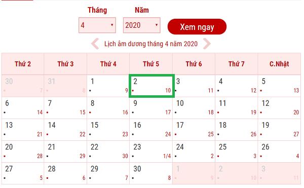 Lịch nghỉ tết giỗ tổ Hùng Vương 2020: Giỗ tổ Hùng Vương 2020 được nghỉ mấy ngày?