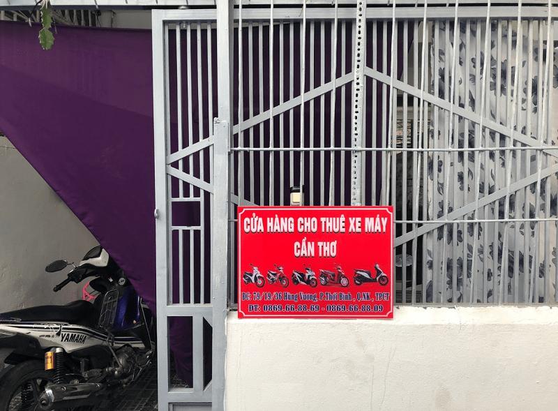 Thuê xe máy ở đâu Cần Thơ giá rẻ, chất lượng tốt. Địa điểm thuê xe máy Cần Thơ