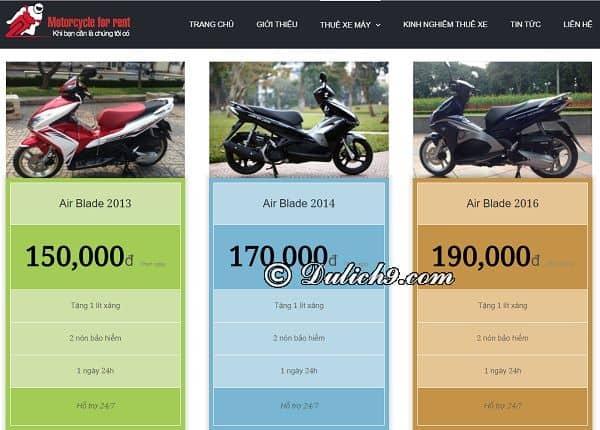Thuê xe máy ở đâu Vũng Tàu uy tín, giá rẻ? Kinh nghiệm thuê xe máy ở Vũng Tàu
