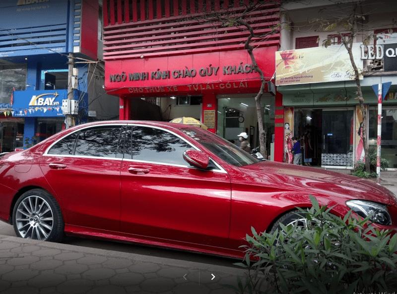 Cửa hàng cho thuê xe tự lái Hà Nội - Ngô Mình