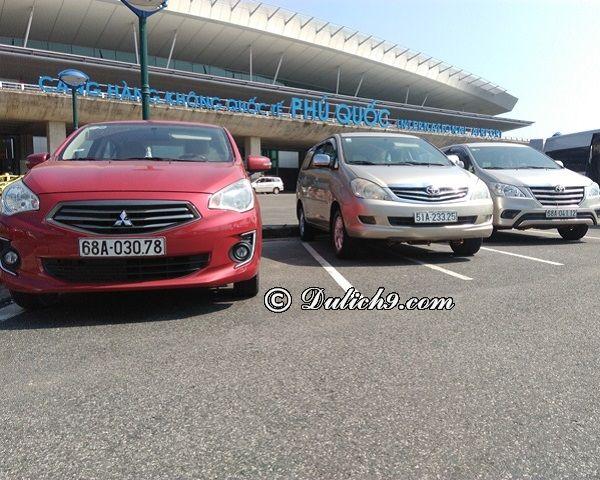 Thuê xe ô tô tự lái ở Phú Quốc giá rẻ, xe chất lượng tốt, Kinh nghiệm thuê xe ô tô tự lái ở Phú Quốc