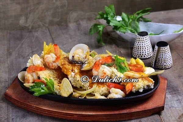 Địa chỉ nhà hàng, quán ăn ngon ở Long Biên/ quán ăn chuyên hải sản tại Long Biên