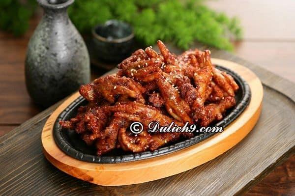 Buk Buk/ quán ăn có món Hàn tại khu vực Mỹ Đình. Gần khu vực Mỹ Đình có quán ăn nào ngon?