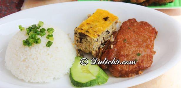 Cơm tấm Thuận Kiều/ quán ăn vặt ngon rẻ quận 1 Sài Gòn