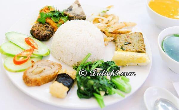 Quán chay Thúy/ các quán chay ngon, giá rẻ quận Hải Châu Đà Nẵng