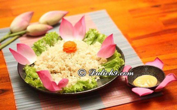 Quán chay Liên Hoa/các quán ăn chay ngon, giá rẻ quận Hải Châu Đà Nẵng