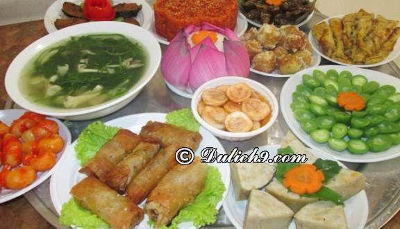 Quán chay Tâm Như/ địa chỉ ăn chay ngon tại quận Hải Châu Đà Nẵng