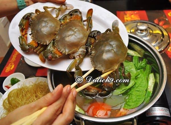 Queen Crab/ Quán nhậu có giá bình dân ở Cầu Giấy. Những quán nhậu đêm ngon, đông khách ở Cầu Giấy