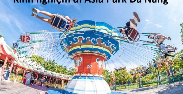 Các trò chơi ở công viên Châu Á Đà Nẵng. Đu quay dây văng