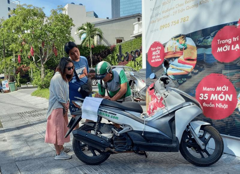 Địa chỉ thuê xe máy tại Huế, thuê xe máy của Hidibike