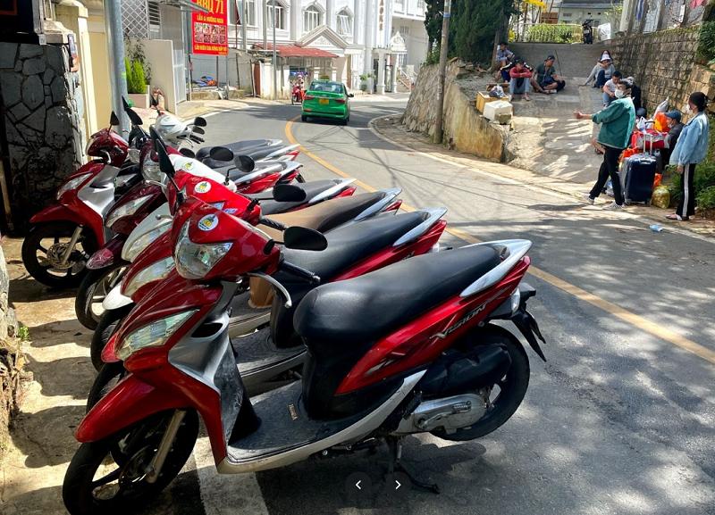 Địa chỉ cho thuê xe máy Đà Lạt, cho thuê xe máy Mr Din