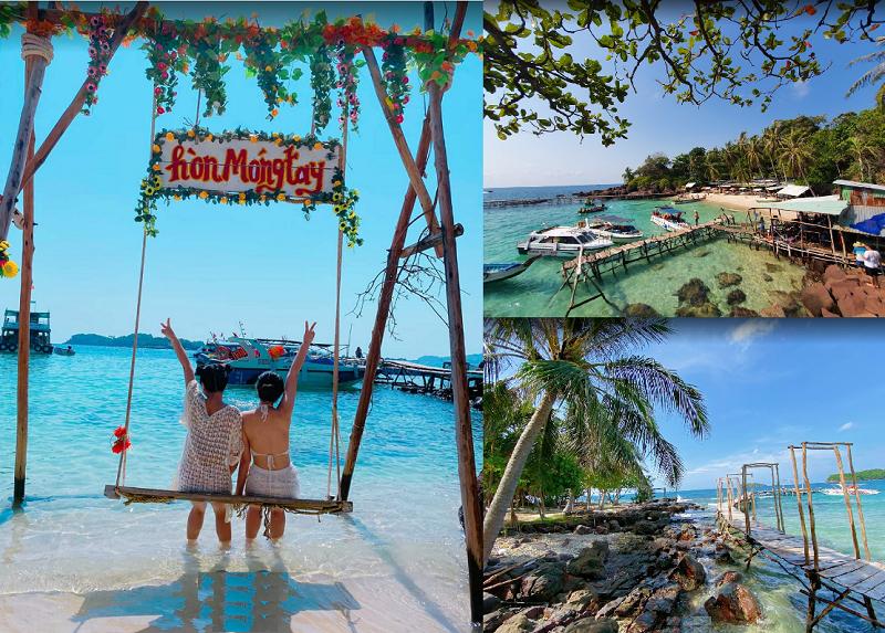 Địa điểm du lịch Phú Quốc đẹp nhất. Tour tham quan các đảo Phú Quốc