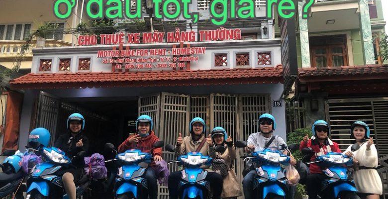 Dịch vụ cho thuê xe máy ở Hà Giang. Thuê xe máy ở đâu Hà Giang?