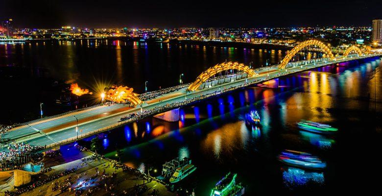 Du lịch Đà Nẵng 2 ngày 1 đêm, cầu Rồng Đà Nẵng