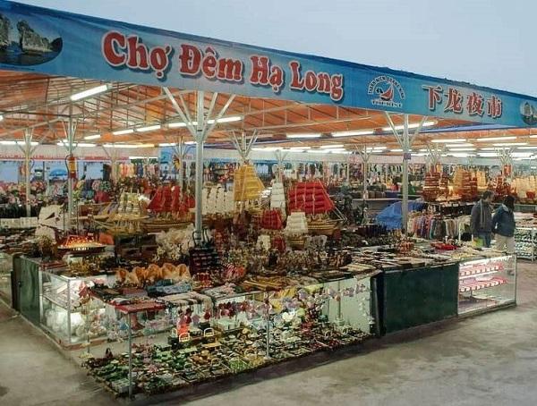 Chợ đêm Hạ Long, địa chỉ mua quà Hạ Long giá rẻ