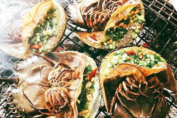 Món ăn ngon Quảng Ninh, sam biển