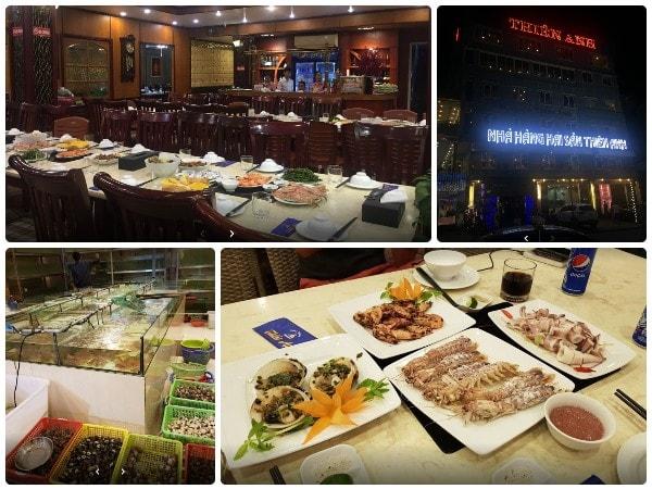 Nhà hàng hải sản Hạ Long, nhà hàng Thiên Anh Hạ Long