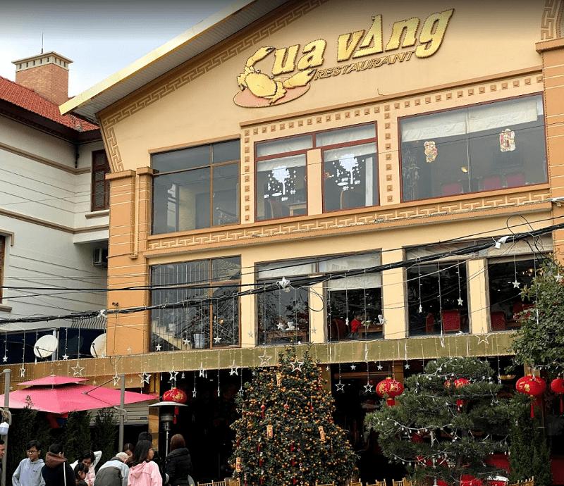 Nhà hàng ngon nổi tiếng ở Hạ Long. Địa điểm ăn uống Hạ Long. Nhà hàng Cua Vàng