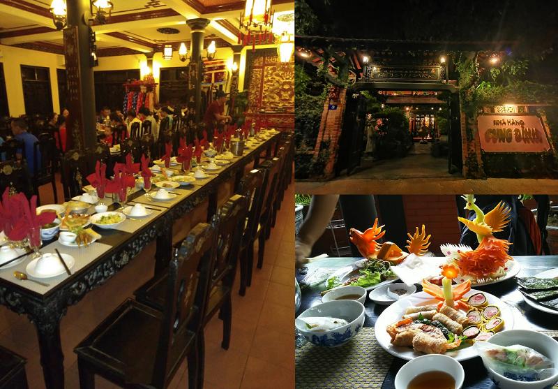 Nhà hàng, quán ăn ngon ở Huế. Nhà hàng Cung Đình