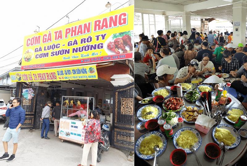 Những quán ăn ngon ở Đà Lạt hấp dẫn, giá rẻ. Du lịch Đà Lạt ăn ở đâu ngon? Quán cơm gà ta Phan Rang