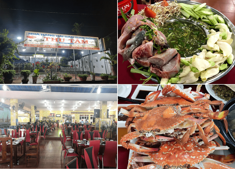 Quán ăn ngon Côn Đảo, nhà hàng Thu Tâm
