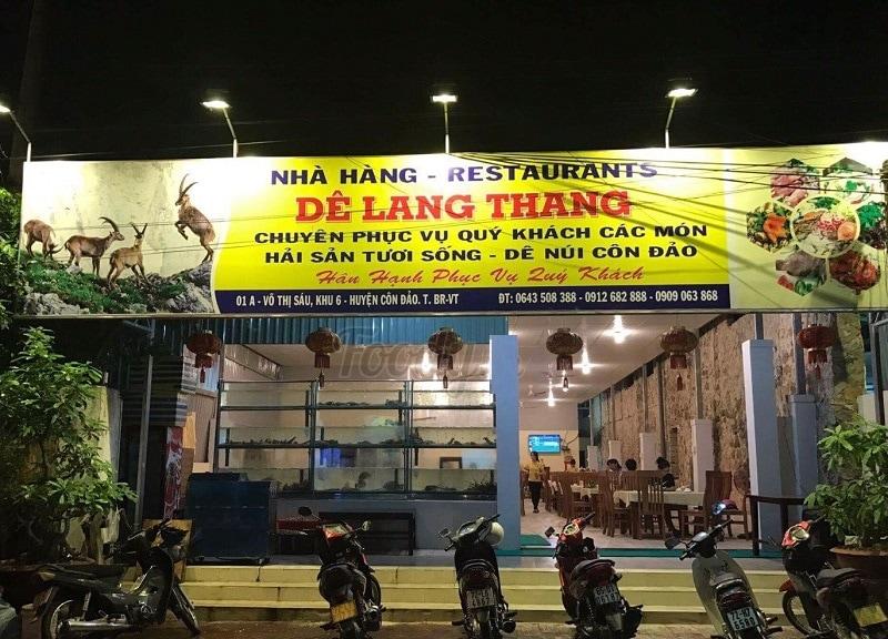Quán ăn ngon ở Côn Đảo, quán dê lang thang