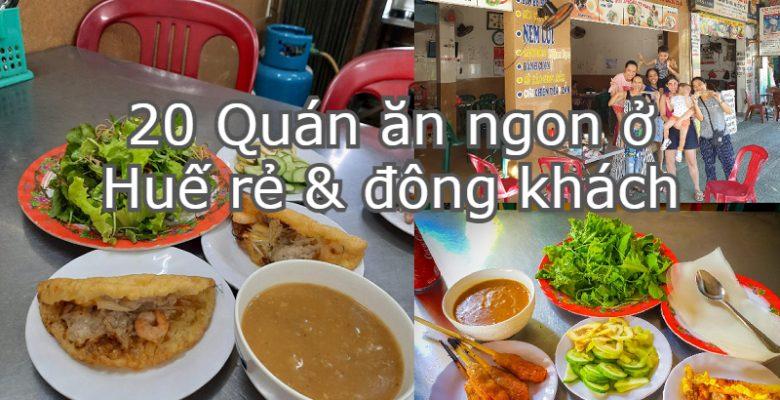 Review ăn uống ở Huế. Ăn gì, ăn ở đâu khi đến Huế? Nhà hàng Lạc Thiện