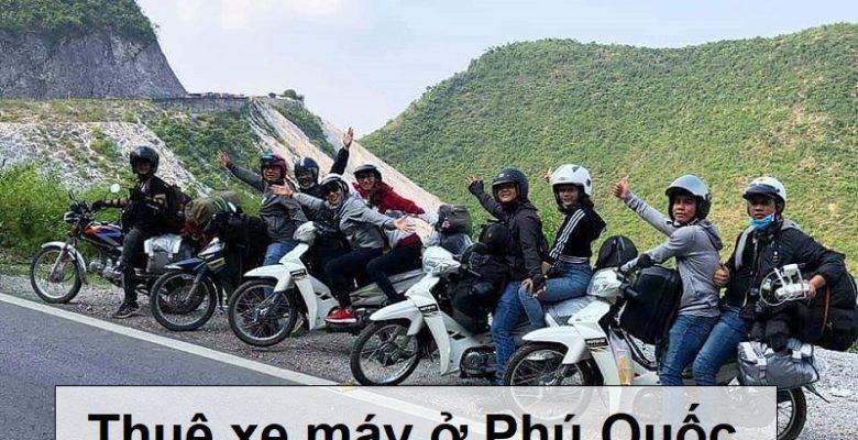 Kinh nghiệm thuê xe máy ở Phú Quốc