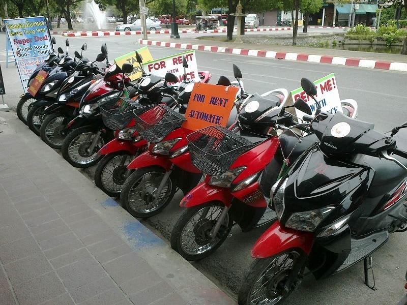 Kinh nghiệm thuê xe máy ở Đà Lạt