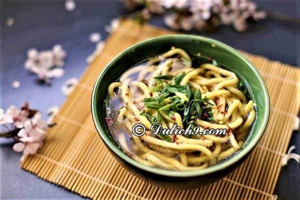 Marukame Udon/ nhà hàng, quán ăn nức tiếng khu vực Quận 2. Địa chỉ quán ăn ngon ở quận 2, Sài Gòn