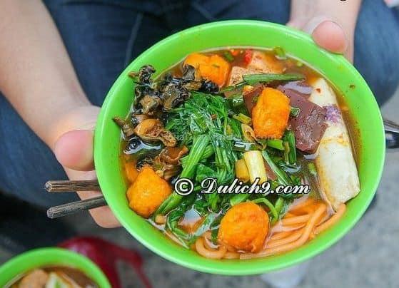 Canh bún vỉa hè Nam Kỳ Khởi Nghĩa/ Quán ăn ngon, giá rẻ Quận 3, TP Hồ Chí Minh