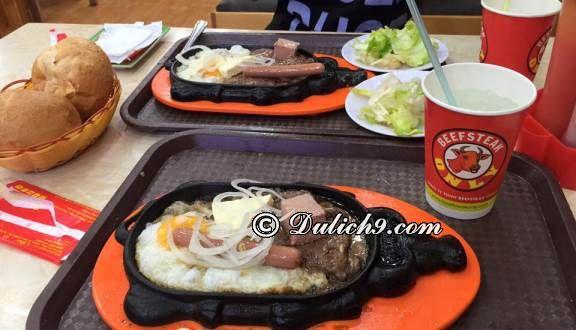 Beefsteak Only – Bà Hom/ nhà hàng ăn uống ở Quận 6 Sài Gòn